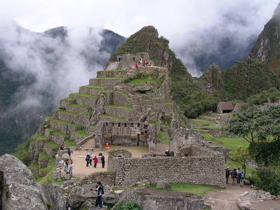 The Sacred Plaza of Machu Picchu